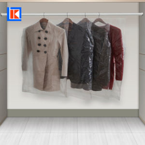 도매 공간 LDPE 롤을%s 가진 주문 인쇄 세탁물 여행용 양복 커버