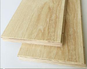 Pisos de madeira (Engineered pisos de madeira de três camadas doussie)