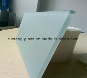 Fornecendo o vidro geado manchado 6mm, vidro da tabela do vidro de segurança
