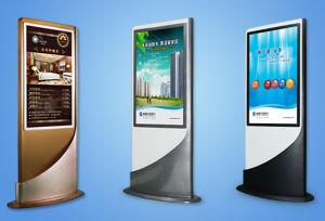 42  전시 실내 Floorstanding 작풍을 광고하는 인치 통신망 버전 LCD
