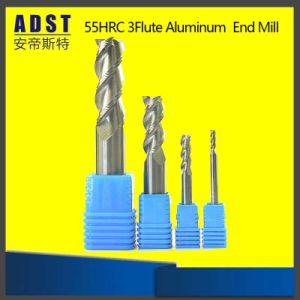 Brocas helicoidales de carburo de HRC55 con 2flauta Square Endmill
