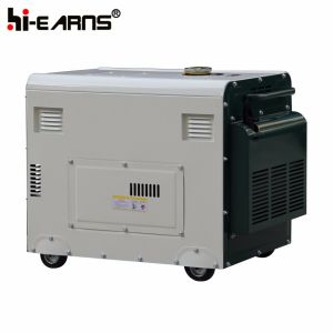 6kw Air-Cooled無声タイプディーゼル発電機(DG8500SE)