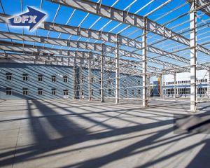 Estructura de acero del hotel del plan del OEM de la tela prefabricada del edificio para la venta