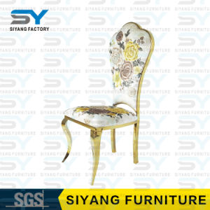 Metal moderno da cadeira do banquete da cadeira da mobília do hotel que janta a cadeira
