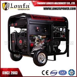 5kVA gerador gasolina silenciosa portátil com pega e Rodas