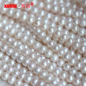 22471c337573 commercio all ingrosso materiale coltivato d acqua dolce bianco delle  stringhe delle perle di 8-9mm