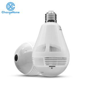 Comercio al por mayor de P2P de la luz de lámpara de Domótica WiFi cámara panorámica de 360 grados