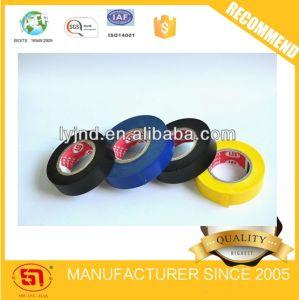O alongamento da fita elétrica de PVC de alta