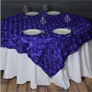 3D 근엽 테이블 오바레이를 위한 공단 근엽 디자인 테이블 피복 ...