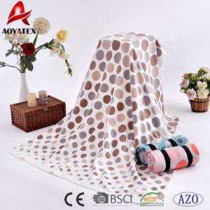 Bind package portable Couverture de laine polaire d'impression