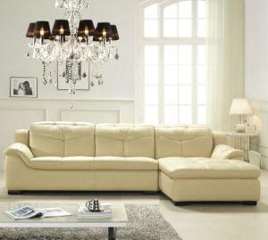 新しい工場価格L形の居間の家具のソファー(889)
