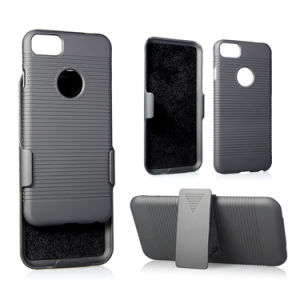 Teléfono móvil con Kickstand y clip para cinturón para el iPhone 7 8 7plus 8PLUS X