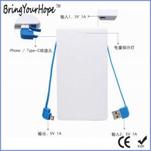 4000mAh de potencia de diseño de la tarjeta de banco con el Stick USB OTG (XH-PB-254)