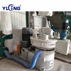 La Chine de combustibles de biomasse professionnels de la pelletisation ligne à partir de paille de riz de sciure de bois