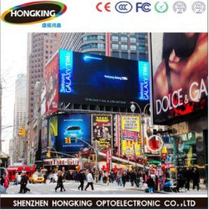 Outdoor P8 LED Haute luminosité Affichage vidéo publicitaire