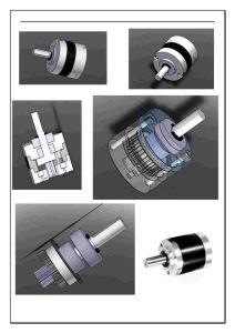 행성 장치 흡진기 - 설계 과정