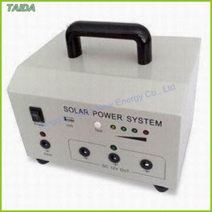 携帯用ハンドルの家の太陽エネルギーシステム(TD-10W)