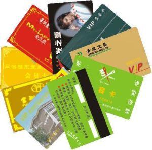 Identificazione Card della plastica con Tk4100 Chip, Tks50 Thin Card, Smart Card di 125kHz RFID