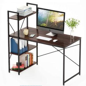 El bastidor de madera de Metal Escritorio con estantería muebles para oficina y hogar