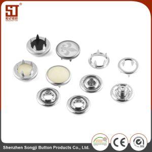 卸し売り方法スナップのズボンのための円形の金属ボタン