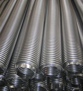 Dn300ステンレス鋼の軟らかな金属の波形を付けられた管かホース