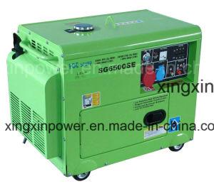 Портативный небольшой мощности 5 квт дизельных генераторных установках с маркировкой CE