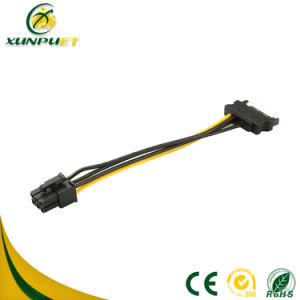 Gegevens 4 Adapter van de Macht van de Kabel PCI van de Draad van de Transformator van de Speld de Perifere