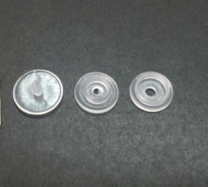 Botón de presión de plástico impermeable