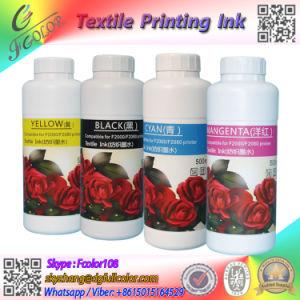 T-Shirt imprimir tintas textiles para el R2000 Impresora Flatable tinta blanca para DX5