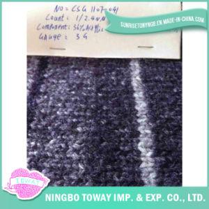 Alta resistência do lado de lã merino Tricot Fios Fantasia (CSG1107-041)