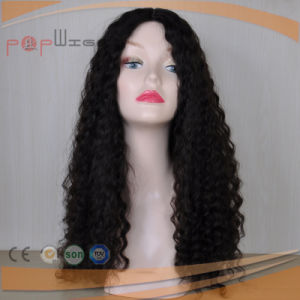 Virgin Hair Silk Top Jewish Kosher Topper Hair Pieceの100%の人間Cuticle