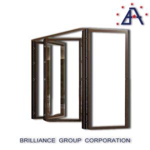 As2047アルミニウムBifoldドアのNon-Thermal壊れ目アルミニウムBi折るドア
