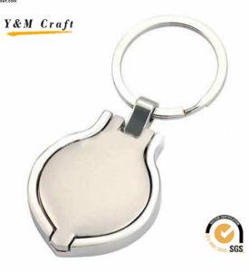 رخيصة ترويجيّ [كريستمس] هبة معدن [كي رينغ] مع صنع وفقا لطلب الزّبون علامة تجاريّة