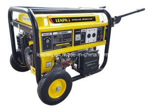 5.0 Kw ruedas y manija Portable Generador Gasolina