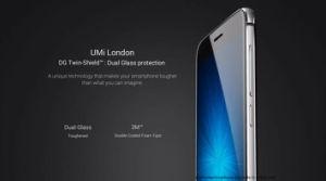 Umi Londen 5  Telefoon van Cellphone 3G WCDMA van de Kern van de Vierling de Slimme