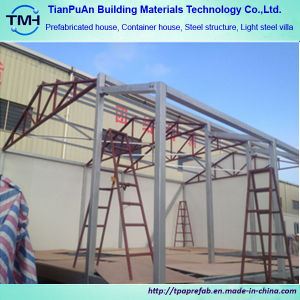 El bastidor de acero diseño y estructura de acero Panel Sandwich la construcción de casas prefabricadas