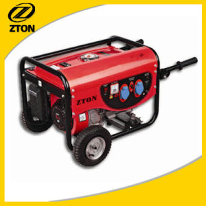5kw/6kVA Generator van de Benzine van de Stroom 220/380V de Elektrische met CE/Euii