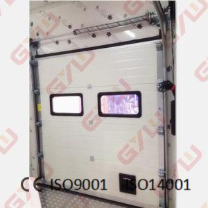 Portello d'acciaio di /Interior del portello per conservazione frigorifera