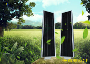 Ce/RoHS를 가진 높은 루멘 40W LED 통합 태양 가로등
