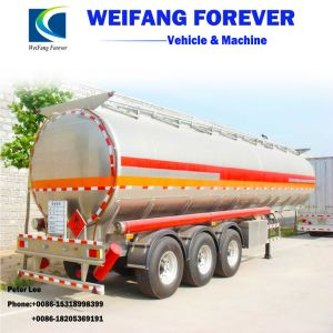 18-65cbmアルミ合金の燃料かオイルまたはガソリンまたはディーゼルタンカー
