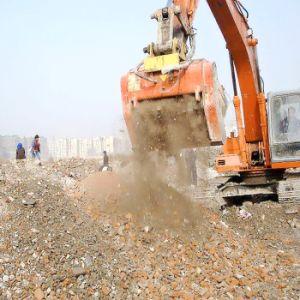 Multi funzione dell'escavatore che schiaccia e che seleziona la benna del setaccio