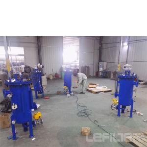 L'eau industrielle auto Brosse de nettoyage du filtre à boîtier en acier inoxydable