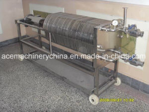 격판덮개와 프레임 진창 찰흙 필터 자동적인 기름 유압 막 실험실 포도주에 의하여 사용되는 여과 프레스 기계