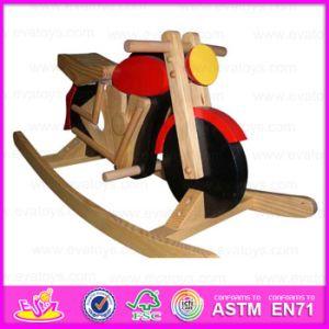 2015 mais recente Viagem de madeira sobre Rocking Horse Toy, Piscina divertido jogar Kid Toy viagem de carro, Item quente crianças piloto de madeira Brinquedos Wj276729