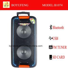 건전지 Bluetooth (B1074)를 가진 직업적인 휴대용 (트롤리) 스피커