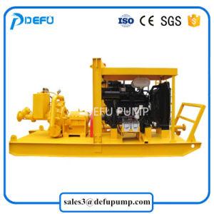 Pompa centrifuga dei residui della ghiaia del fango del rifornimento della fabbrica con il motore diesel