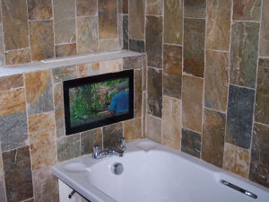 Resistente al agua, de 24 pulgadas TV CON RS232/Audio out