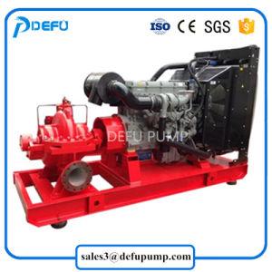 UL de vermelde Pomp van de Brandbestrijding van het Geval van de Dieselmotor van 750gpm Gespleten