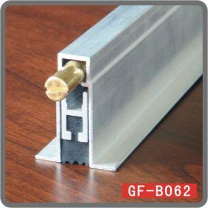 Borracha raspadora de porta de alumínio inferior Gf-B062
