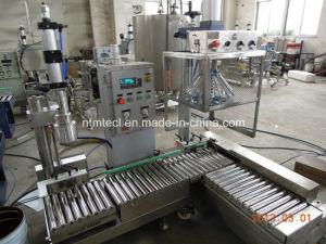 自動重量を量るタイプペンキ、コーティング、接着剤、インク、化学薬品のための液体満ち、キャッピング機械